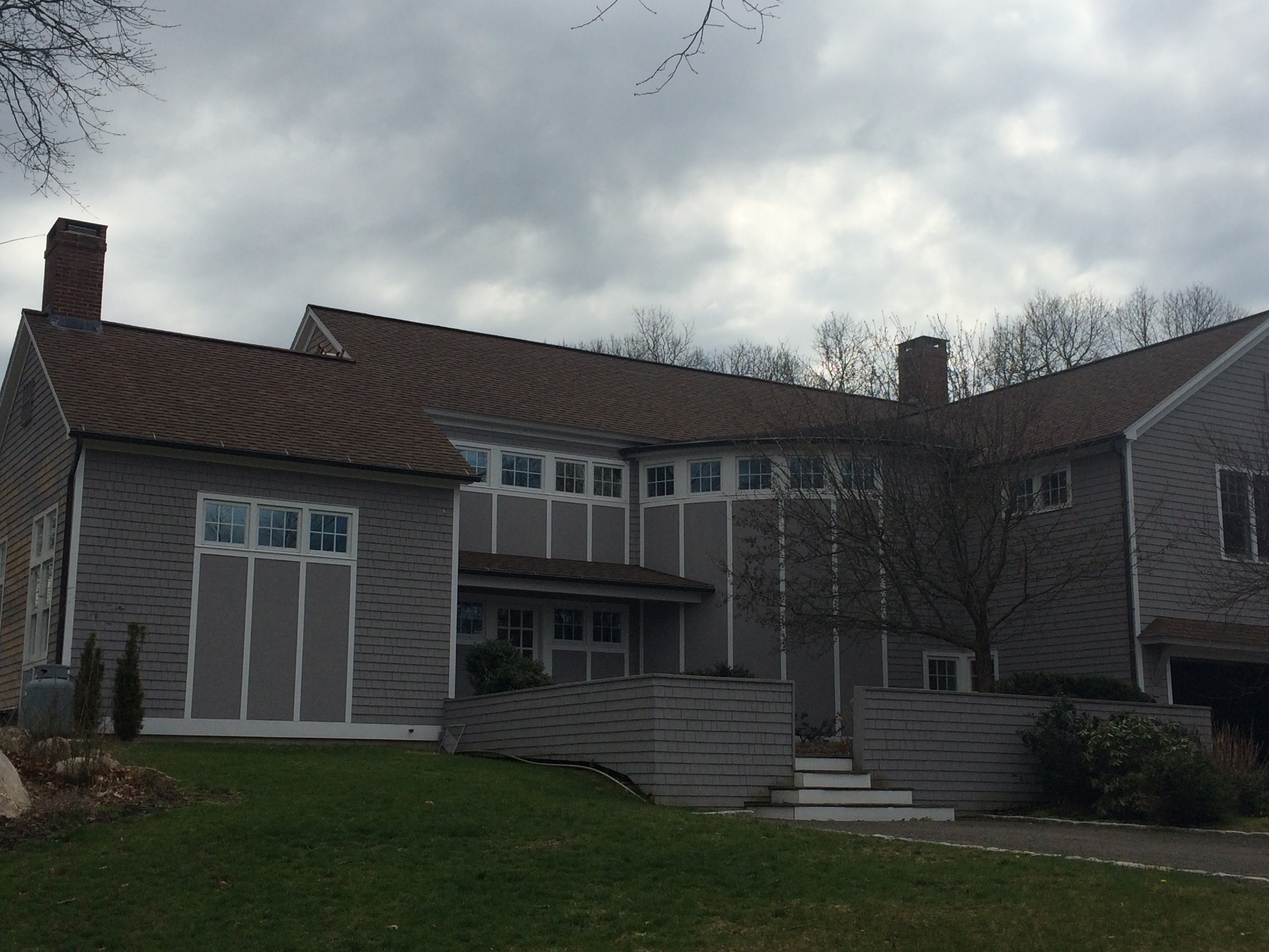 Modern Home Restored to Glory with Roof Cleaning CT – Cleaning Roof Shingles