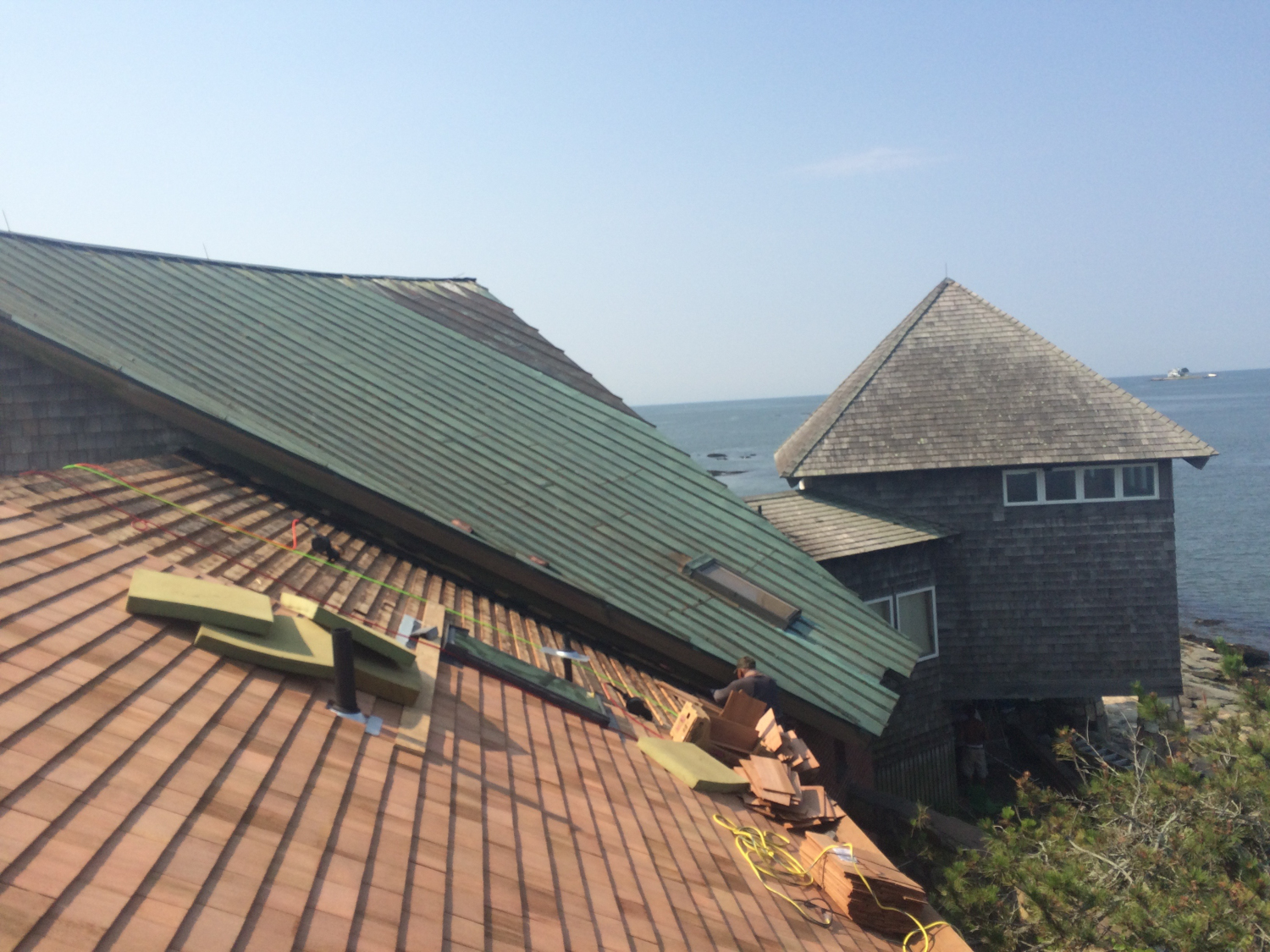 Replace Cedar Roof On Green Island Branford Ct Ct