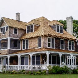 Remove & Replace Cedar Roof in Old Saybrook, CT