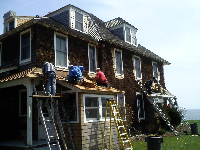 Replace Cedar Roof In Fenwick Old Saybrook Ct Ct