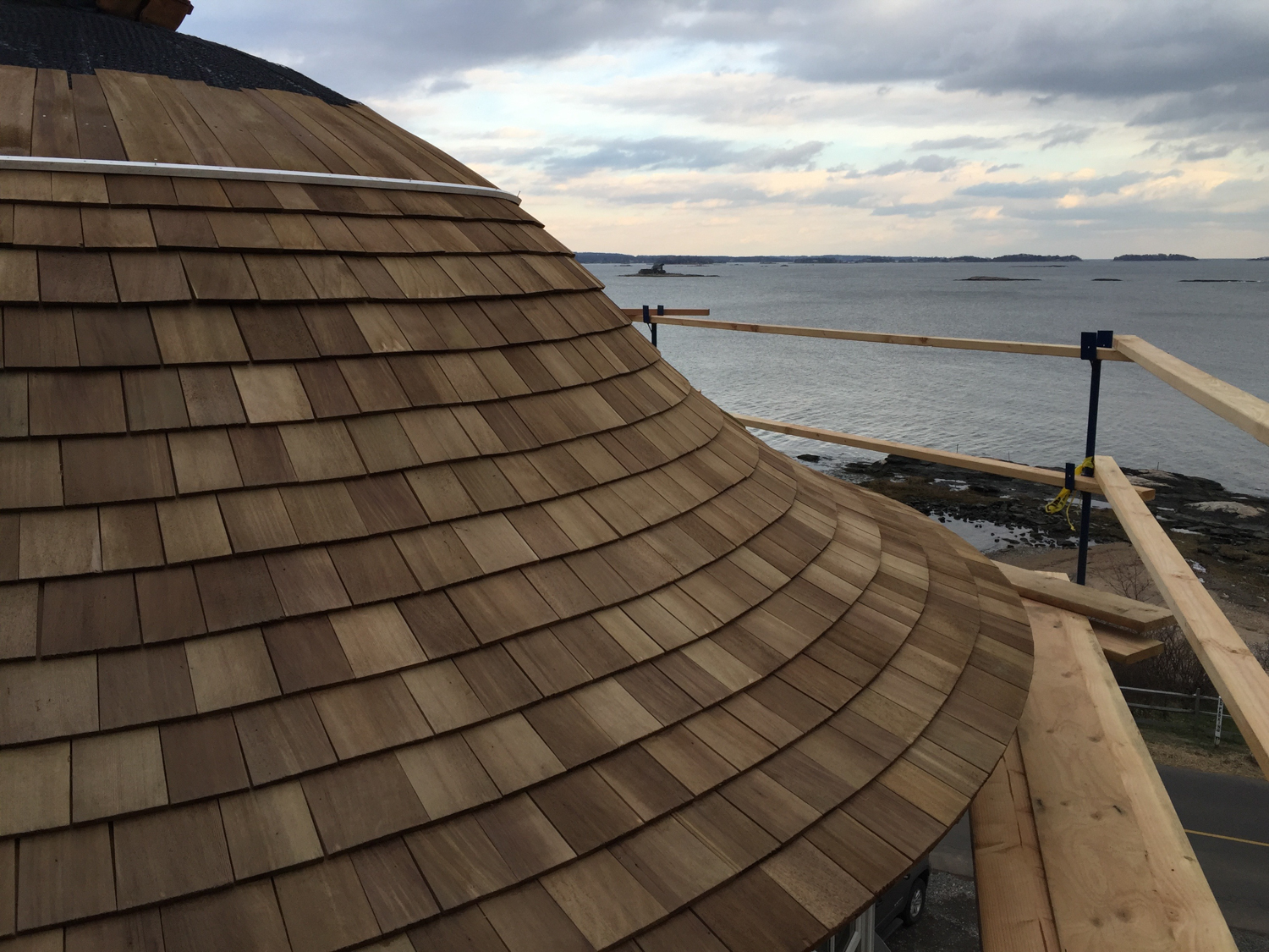 Cedar Roof Installation In Pawson Park Branford Ct Ct