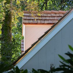 Cedar roof replacement on Ryders Lane, Wilton, CT